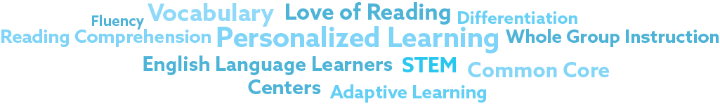 Reasons for Educators to use Epic!— Fluency, Vocabulary, Love of Reading, Differentiation, Reading Comprehension, Personalized Learning, Whole Group Instruction, English Language Learners, STEM, Common Core, Centers, Adaptive Learning