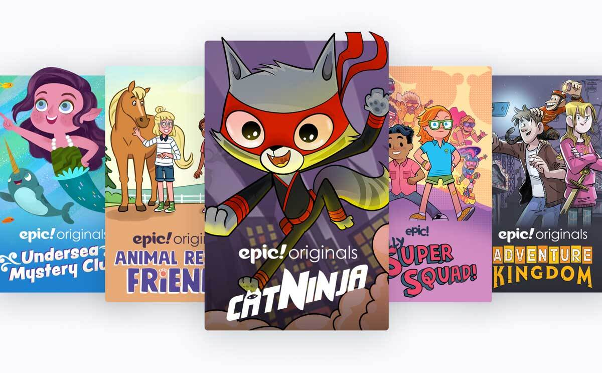 Epic books subscription box for kids